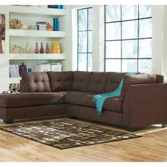 Ardmore Stationary Sofa Steamer Modern Furniture Outlet Bellmawr Nj Maier Walnut Left Arm Facing Chaise End Sectional