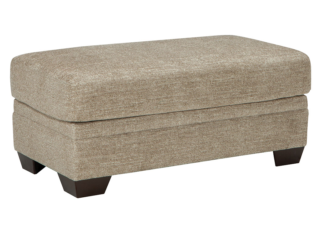 Rossie Furniture Hammond LA Barrish Sisal Ottoman