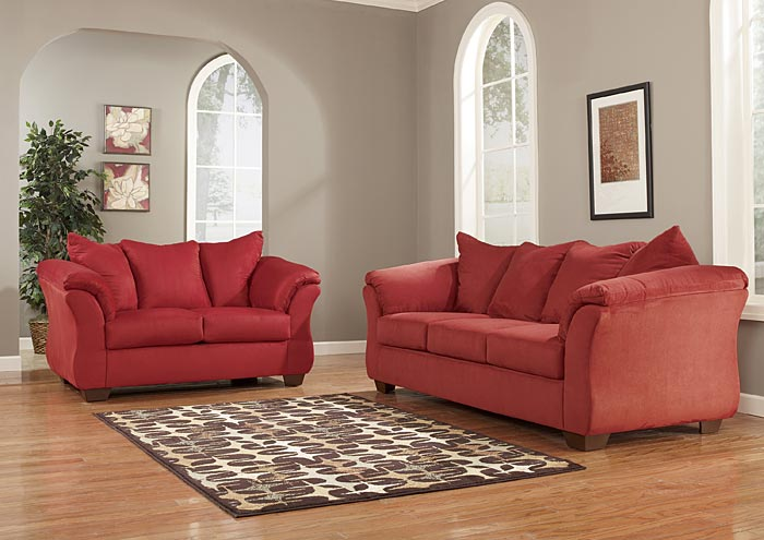 ashley darcy sleeper sofa review bauhaus queen affordable furniture & carpet - chicago, il salsa ...