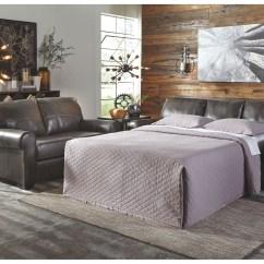Sleeper Sofas Chicago Il Flexsteel Reclining Sofa Leather Mr Discount Furniture Canterelli Gunmetal Queen