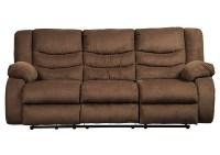 Ivan Smith Tulen Chocolate Reclining Sofa