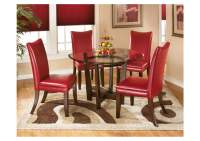 ROSES Flooring and Furniture Charell Round Dining Table w ...