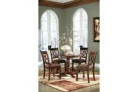 Alabama Furniture Market Leahlyn Round Dining Table w/4 ...