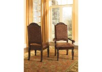 Compass Furniture North Shore Upholstered Arm Chairs (Set ...