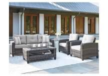 cloverbrooke gray 4-piece outdoor
