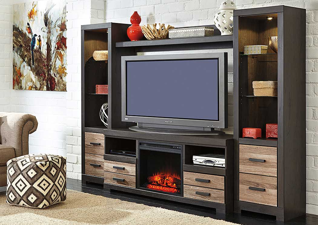 home entertainment fireplace living room furniture richmond va mary s furnishings new tazewell tn harlinton center w led insert