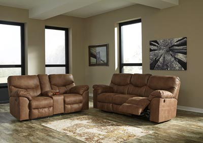 living room furniture for less how to decorate a with dark brown leather couches 4 outlet boxberg bark reclining power sofa double loveseat w console