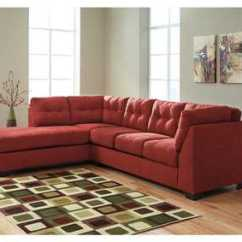 Sierra Red Living Room Sectional Colour Ideas With Brown Sofa Orleans Furniture Maier Sienna Left Arm Facing Chaise End