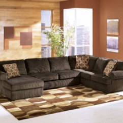 Living Room Furniture Newark Nj Decorating Rooms With Grey Walls Sleep Cheap Jersey City North Bergen Union Vista Chocolate Left Facing Chaise Sectional