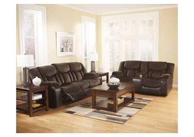 living room discount furniture feng shui mirror family tafton java reclining sofa loveseat