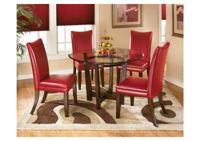 living room center bloomington in paint colour scheme ideas furniture exchange charell round dining table w 4 red side chairs