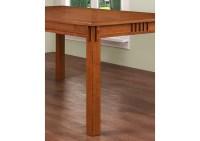 Compass Furniture Light Oak Rectangular Dining Table