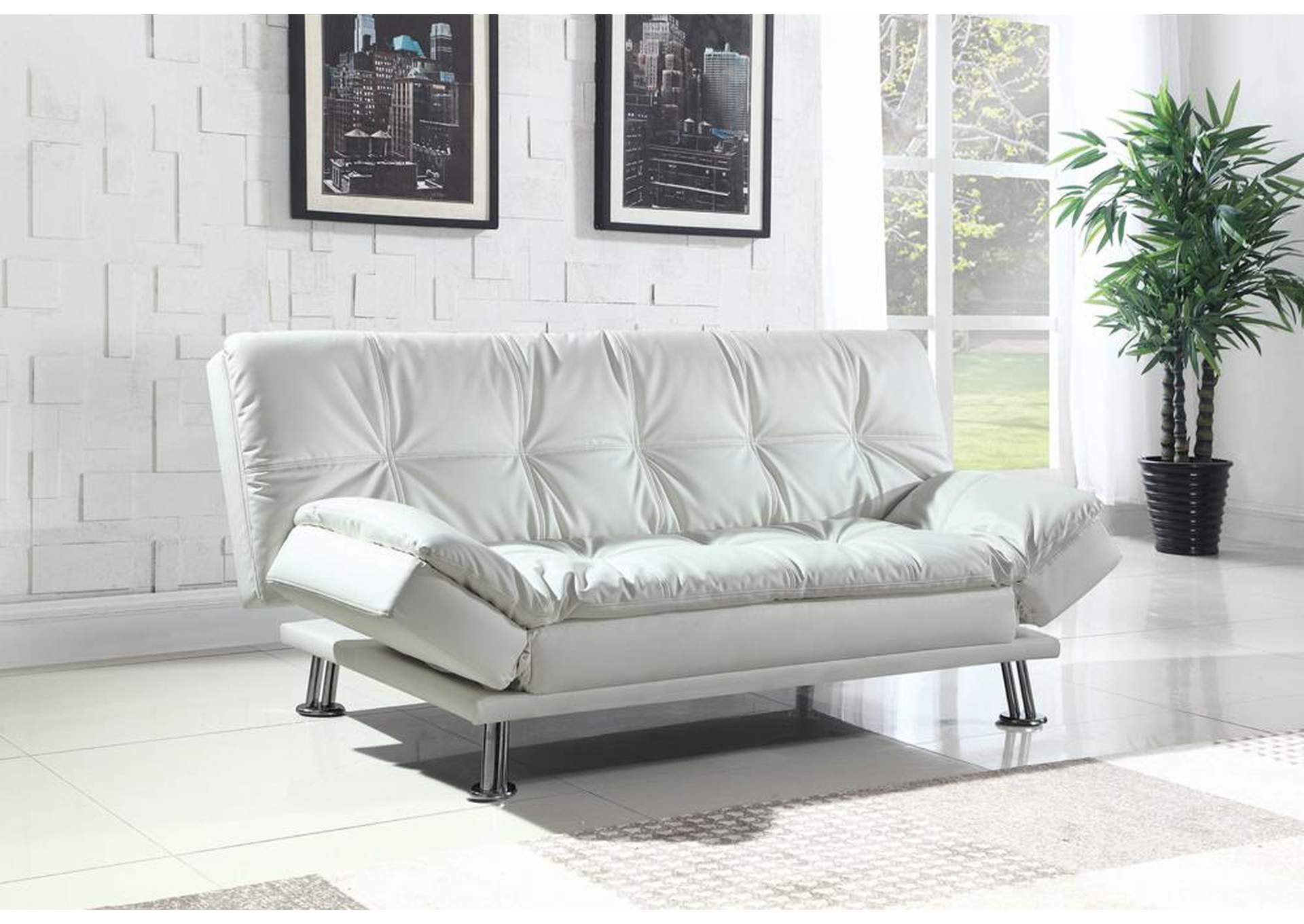white sofa set living room modern contemporary pictures furniture palace bed ottoman coaster