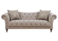Compass Furniture Brown Sofa