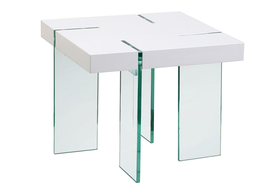 White Lacquer Table Top