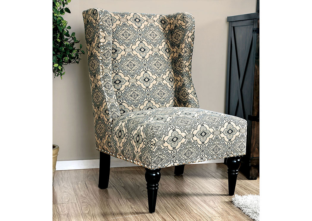 damask accent chair stand up high 522971 elche