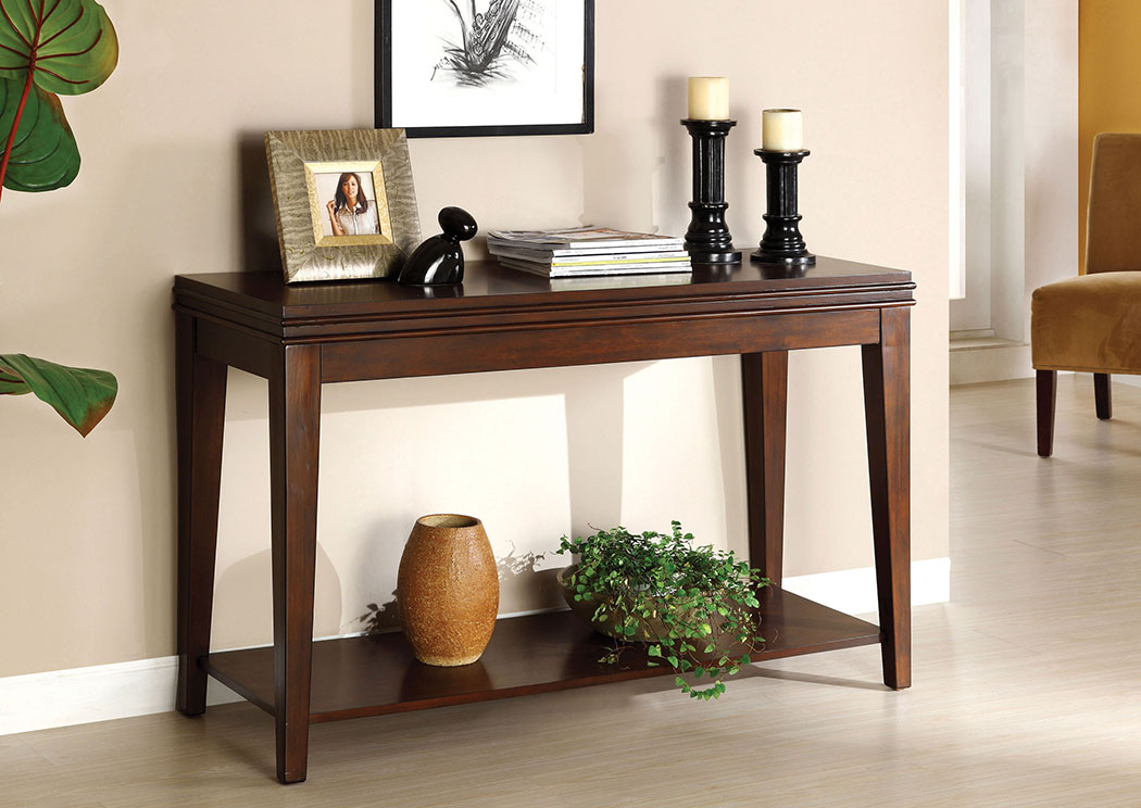 star furniture sofa table pink dfs max five richmond dark cherry w open shelf of america