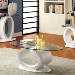 How To Make A Sofa Table Top Best Fabric For With Pets Fashion Home Furniture Tx Lodia Lll White Lacquer Glass W O Shaped Base