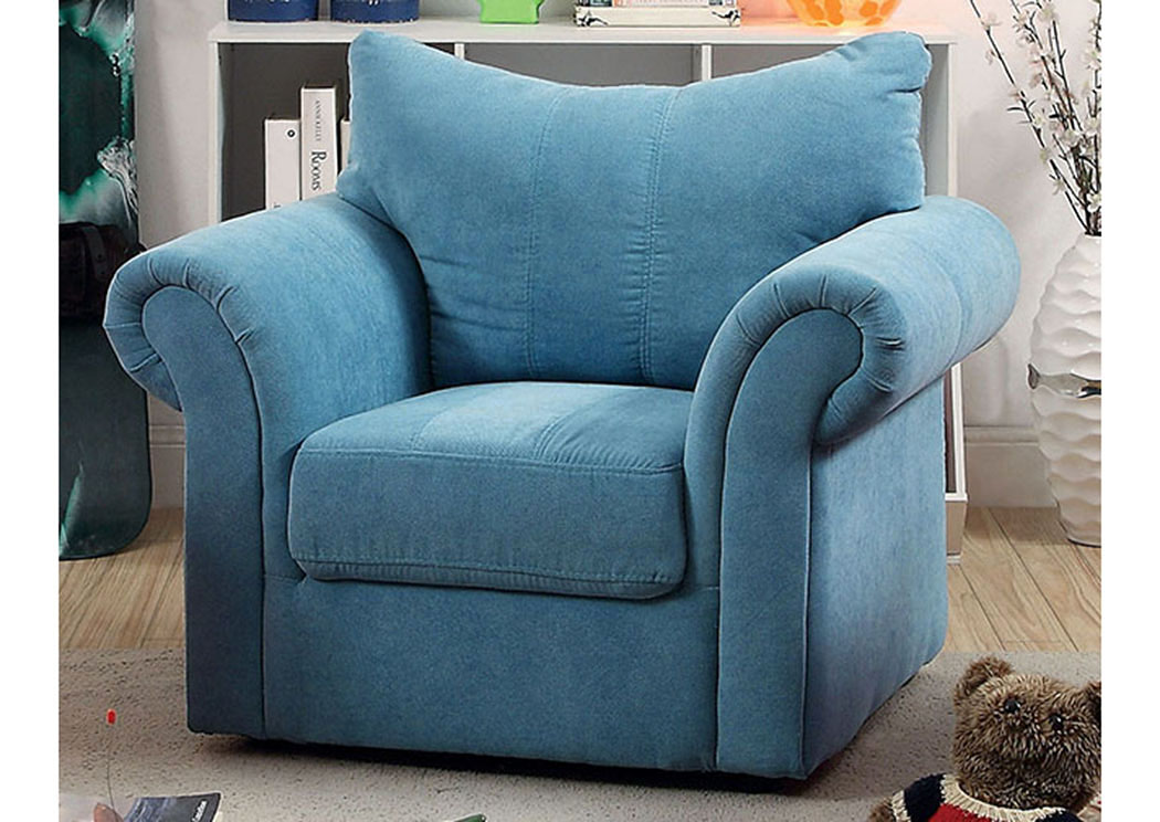 kids arm chairs dining chair construction eddie s furniture mattress irma blue curved back of america