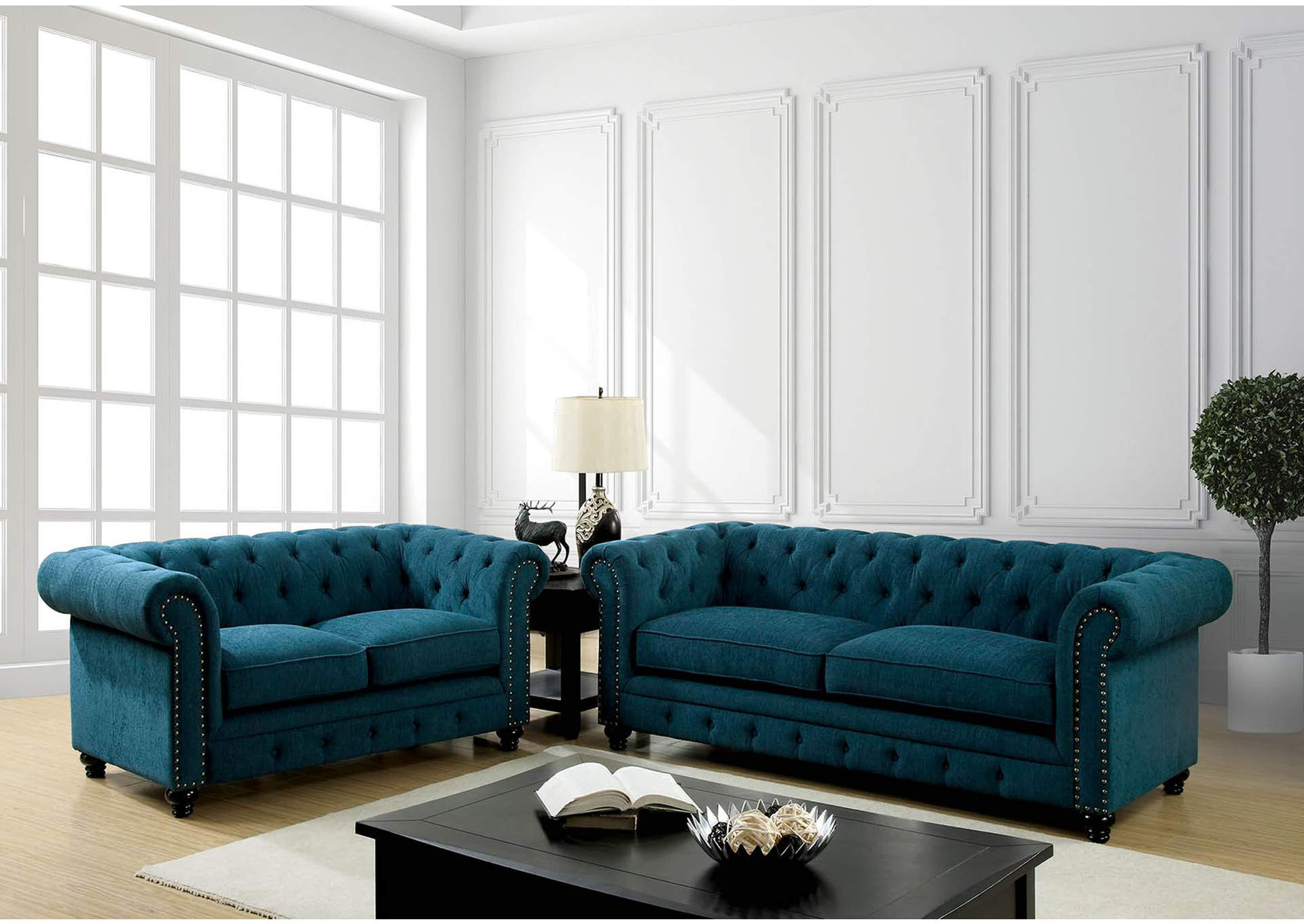teal sofas sofa mattress topper furniture discounter stanford dark and loveseat of america