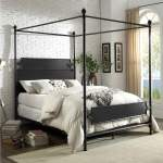 Beatrix Bronze California King Canopy Bed Albert S Home Furnishings