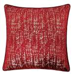 Belle Red Accent Pillow Set Of 2 Homestead Furniture