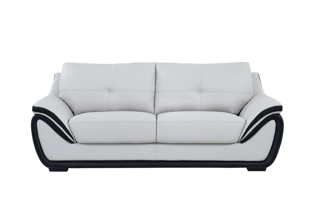sleeper sofas chicago il futon sectional sofa mr discount furniture natalie light gray black global usa