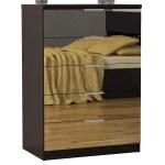 Shoppers World Flooring Furniture Gianna Espresso Mirrored