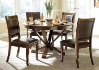 iDeal Furniture of Metro Atlanta Helena Deep Cherry 48 ...