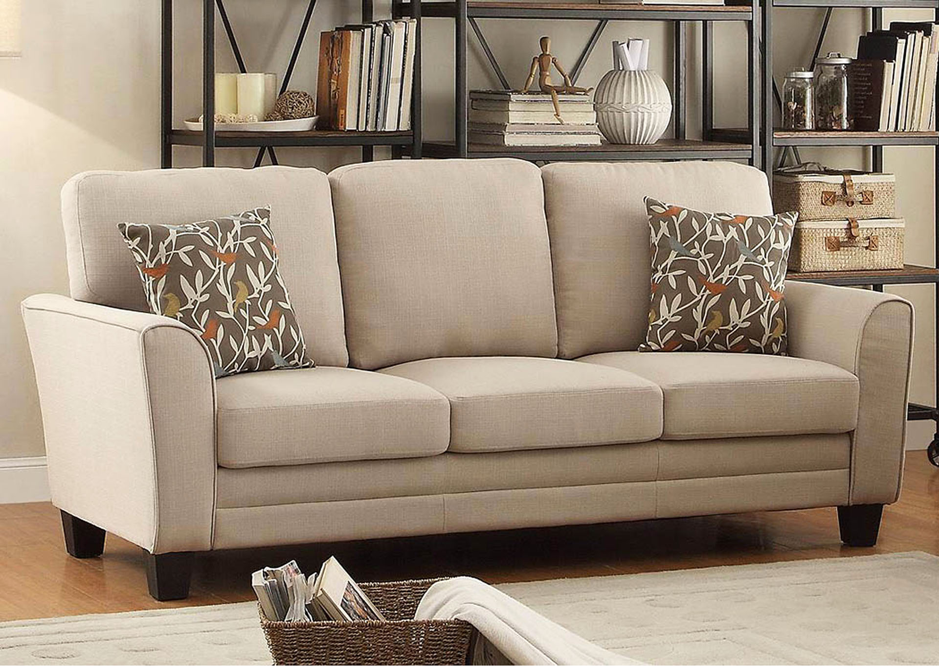 living room decorating ideas beige couch with yellow walls colonia furniture mattress adair sofa