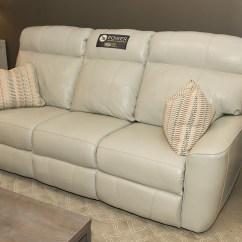 Klaussner Grand Power Reclining Sofa Foam Seat Cushions For Beacon Furniture Cayman Elara Alfresco Villa Leather Home Furnishings