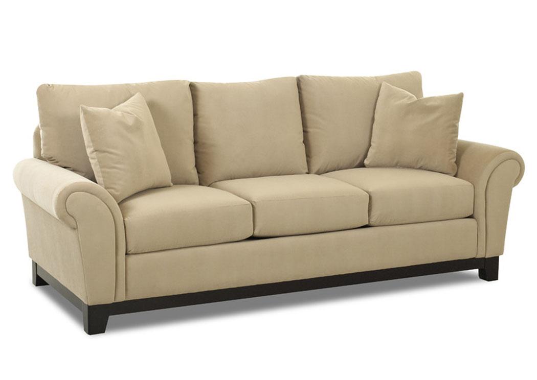 oatmeal sofa how to diy table gk furniture sackett klaussner home furnishings