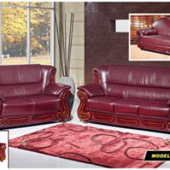 Burgundy Leather Sofa And Loveseat Contemporary Reclining Fabric Harlem Furniture
