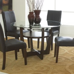 Chairs Dining Table Rustic Bar V Watts Furniture Apollo Beveled Glass W 4 Side Standard
