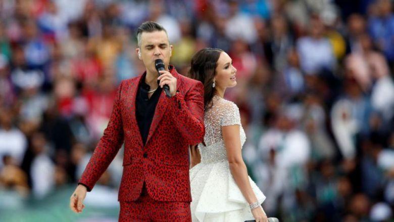 Resultado de imagen para Robbie Williams y Aida