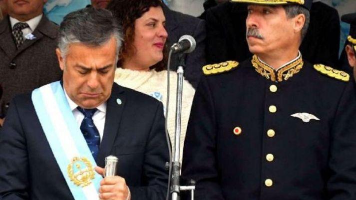 Cornejo respaldó el decreto presidencial sobre las FFAA