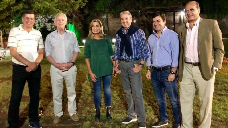Sin Cornejo ni Suárez, hubo cumbre de Cambia Mendoza en Las Heras