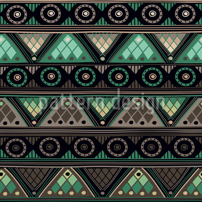 Mixed Girls Wallpaper Viking Tribal Repeating Pattern