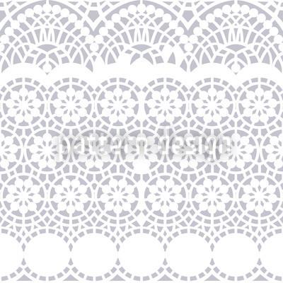 Alhambra White Pattern Design