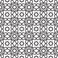 Islamic Tile Repeating Pattern