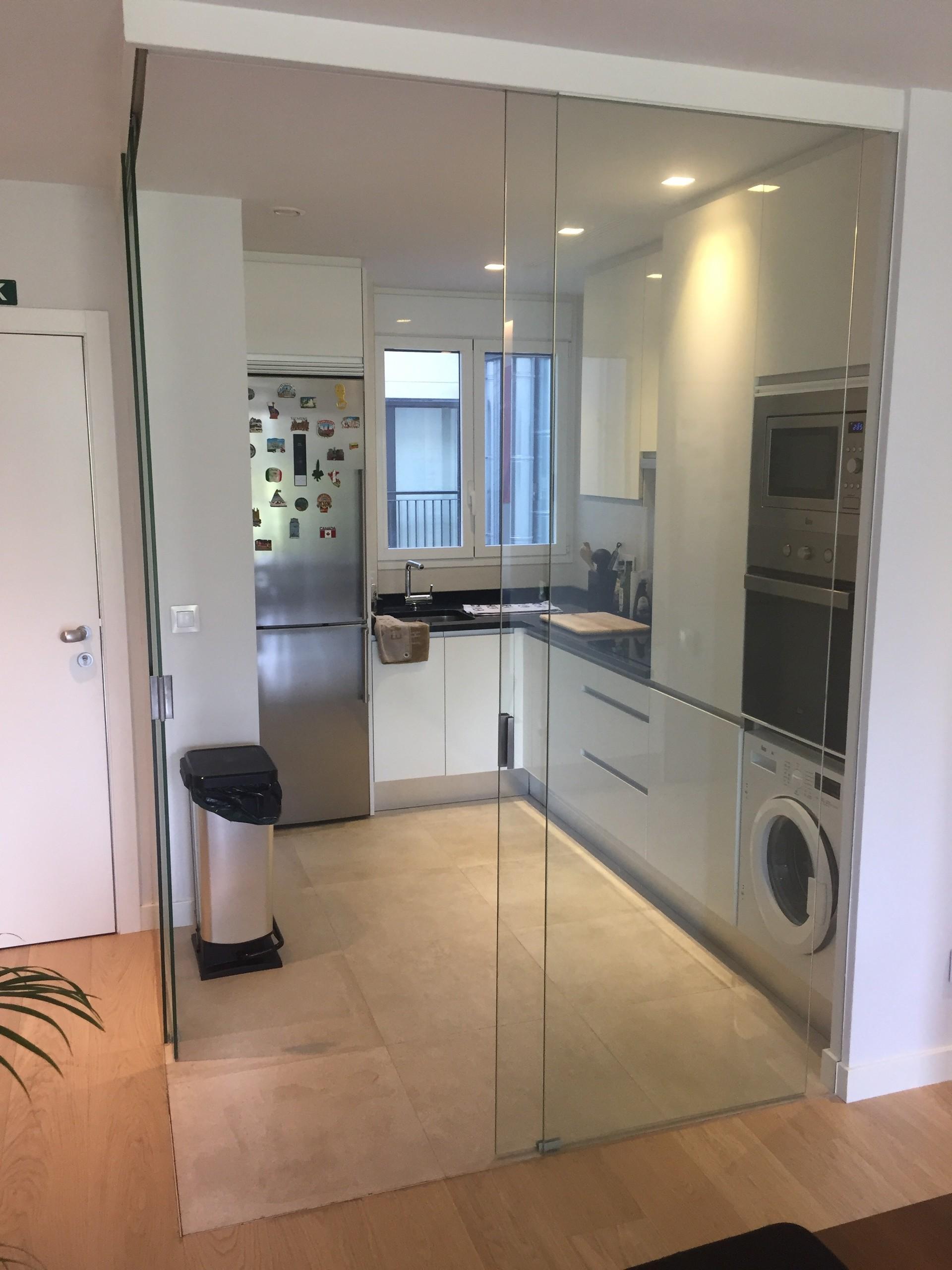 Appartement ultra moderne lumineux 60m2 proche principe pio  Location chambres Madrid