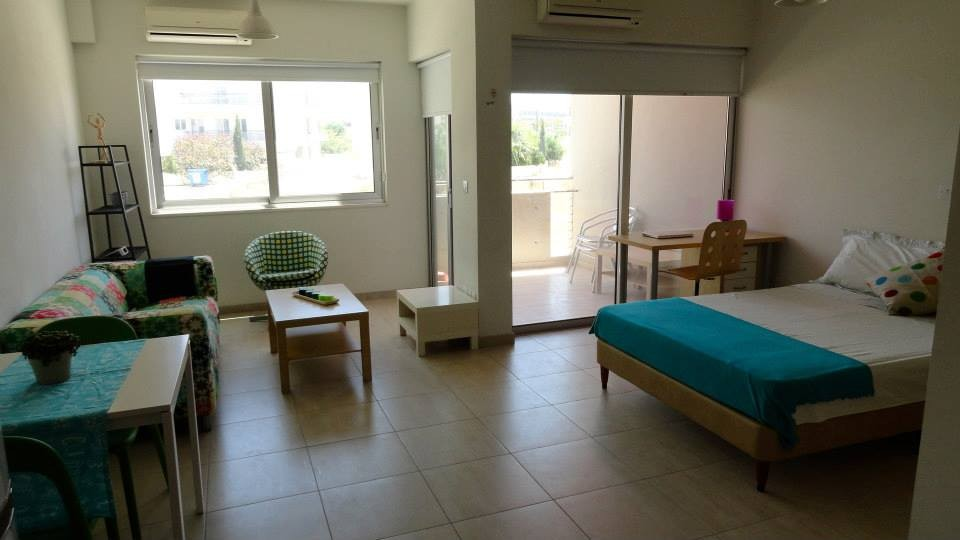 Beautiful new studio near the University of Cyprus  Rent studios Nicosia
