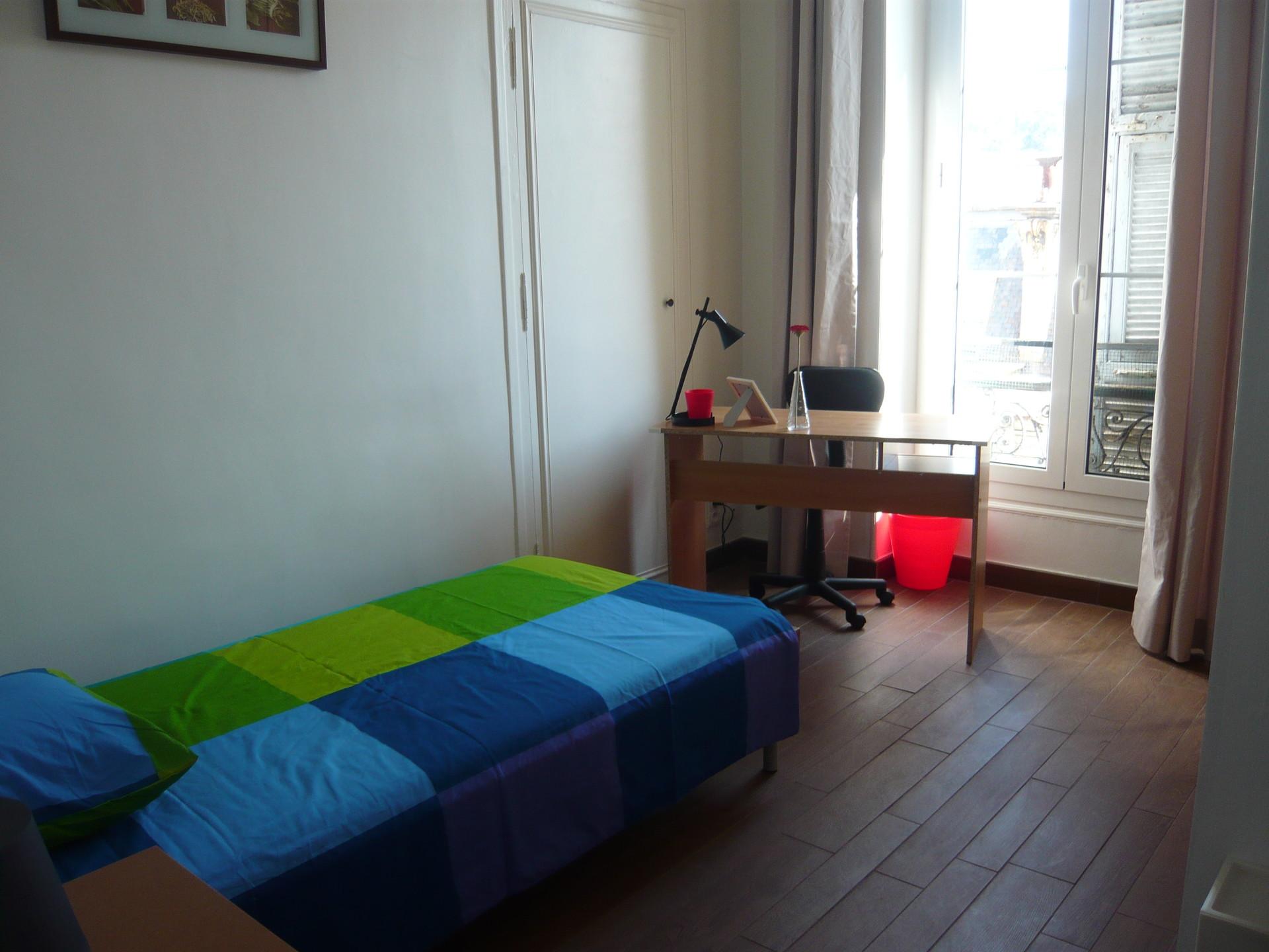 Chambre Simple dans Grand Appartement Plein Centre de Nice  Location appartements Nice