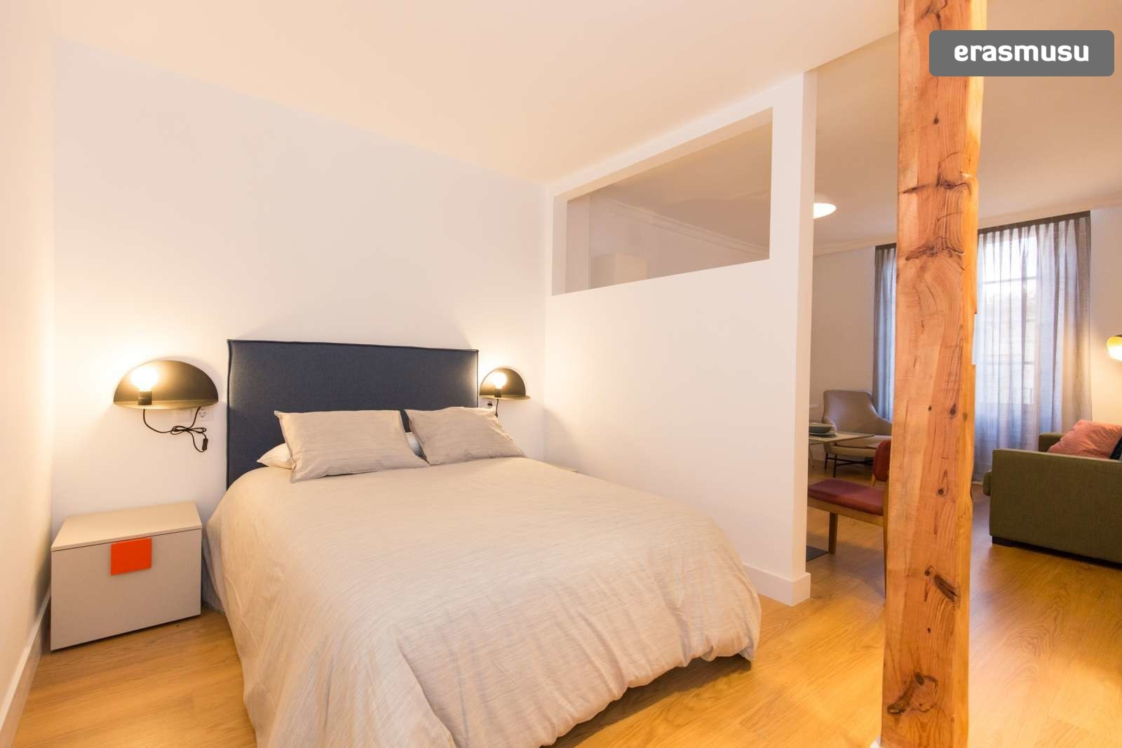 Charming 1 bedroom double apartment for rent in City