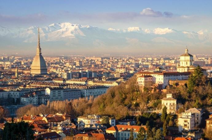 principais cidades da Itália turim