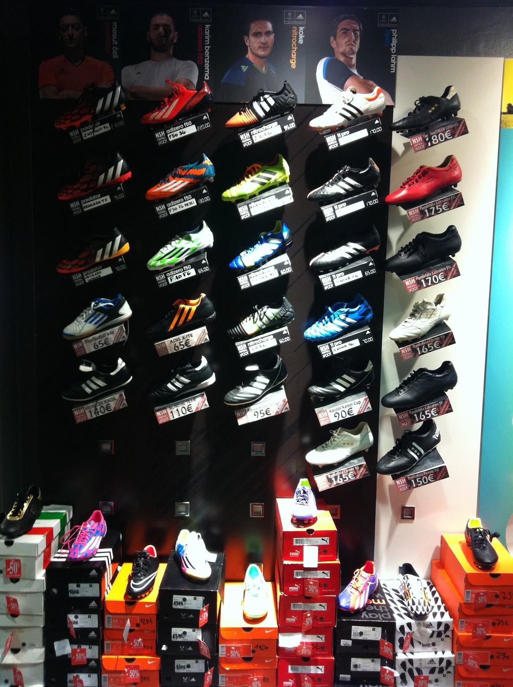 magasin nsh football que voir a paris