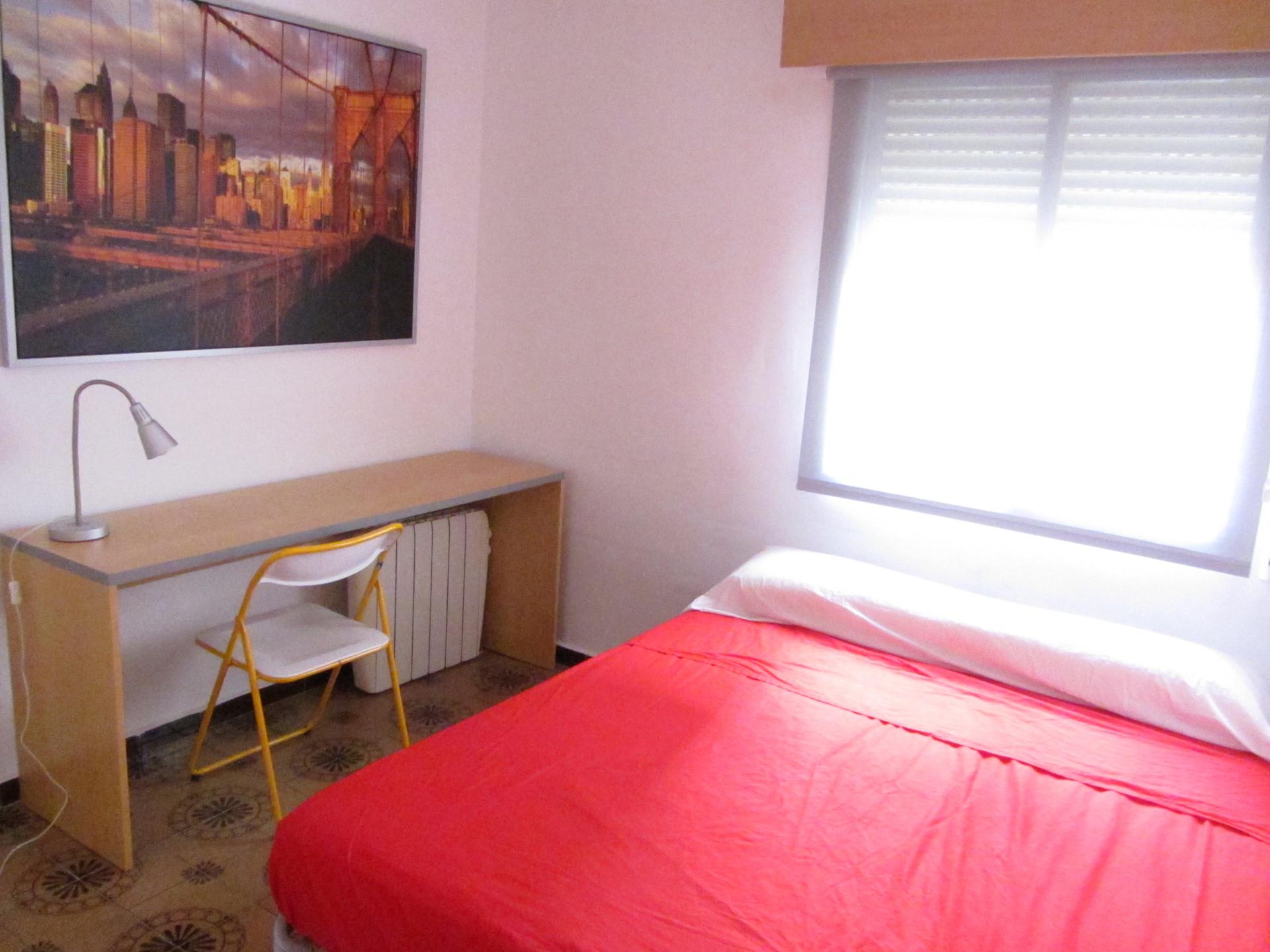 Luminosa habitacin en Madrid  Alquiler habitaciones Madrid