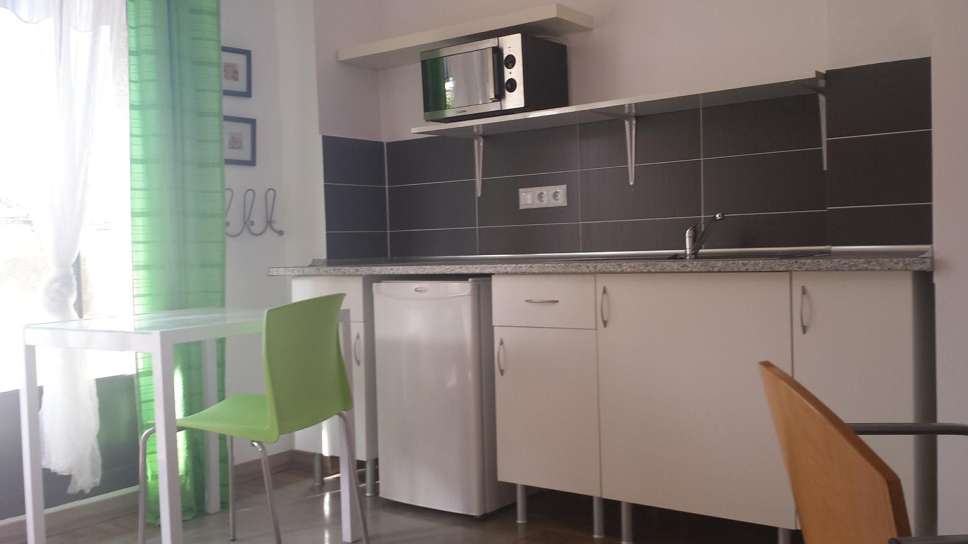 Mini StudioApartment Private Kitchen Bathroom and