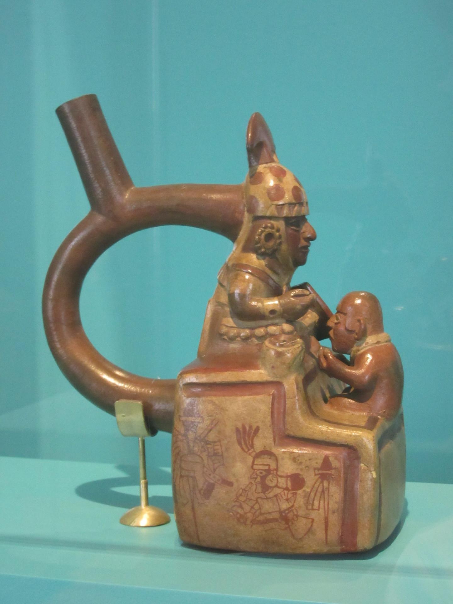 Museo de arte de Lima PARTE VI la cultura Mochica conozcamos el norte del Per Blog