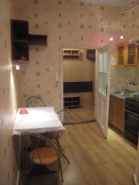 One room, but quite big flat (40m2) with kitchen to rent ...